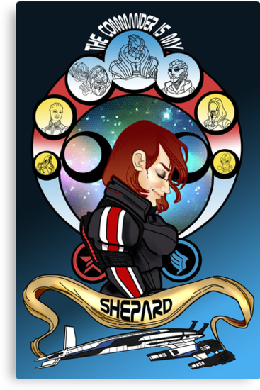 The Commander is my Shepard (RED HEAD EDITION) by tonksiford