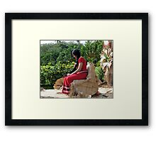 Samoa's Beauty Framed Print