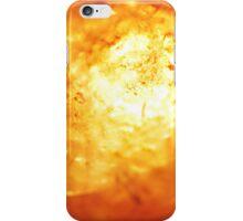 White Hot Lava iPhone Case/Skin