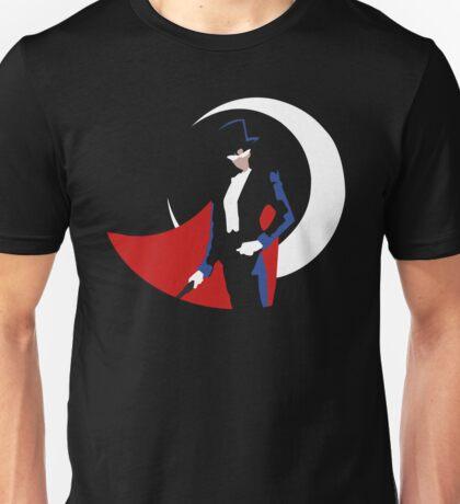 Tuxedo Mask on black Unisex T-Shirt