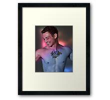 Shy Smile Vance Framed Print