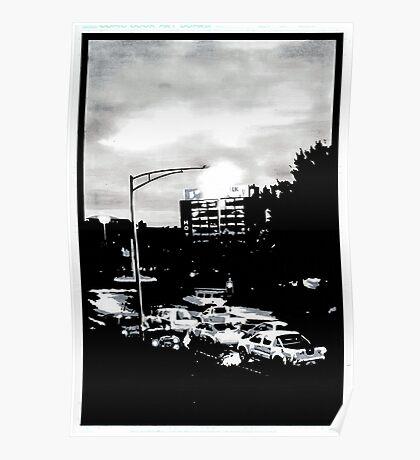 Hobart at dawn Poster
