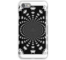 Invader Swirl iPhone Case/Skin