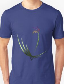 Curved Flower T-Shirt