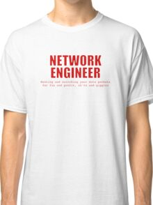 Network Engineer (Red) Classic T-Shirt