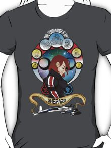 The Commander is my Shepard (RED HEAD EDITION) T-Shirt