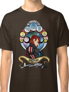 The Commander is my Shepard (RED HEAD EDITION) Classic T-Shirt