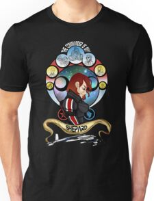 The Commander is my Shepard (RED HEAD EDITION) Unisex T-Shirt
