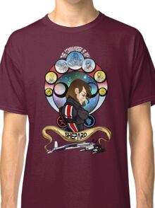 The Commander is my Shepard (BRUNETTE EDITION) Classic T-Shirt