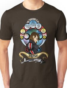 The Commander is my Shepard (BRUNETTE EDITION) Unisex T-Shirt