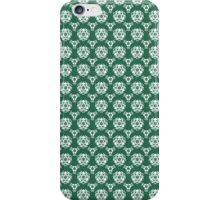 Vintage Irish Green Baroque Wallpaper iPhone Case/Skin