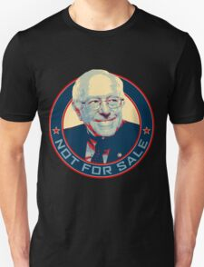 Bernie Sanders - Not For Sale T-Shirt