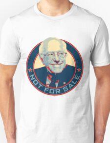 Bernie Sanders - Not For Sale Unisex T-Shirt