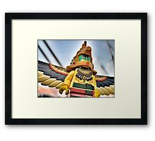 Bird-man (2 of 3) Framed Print
