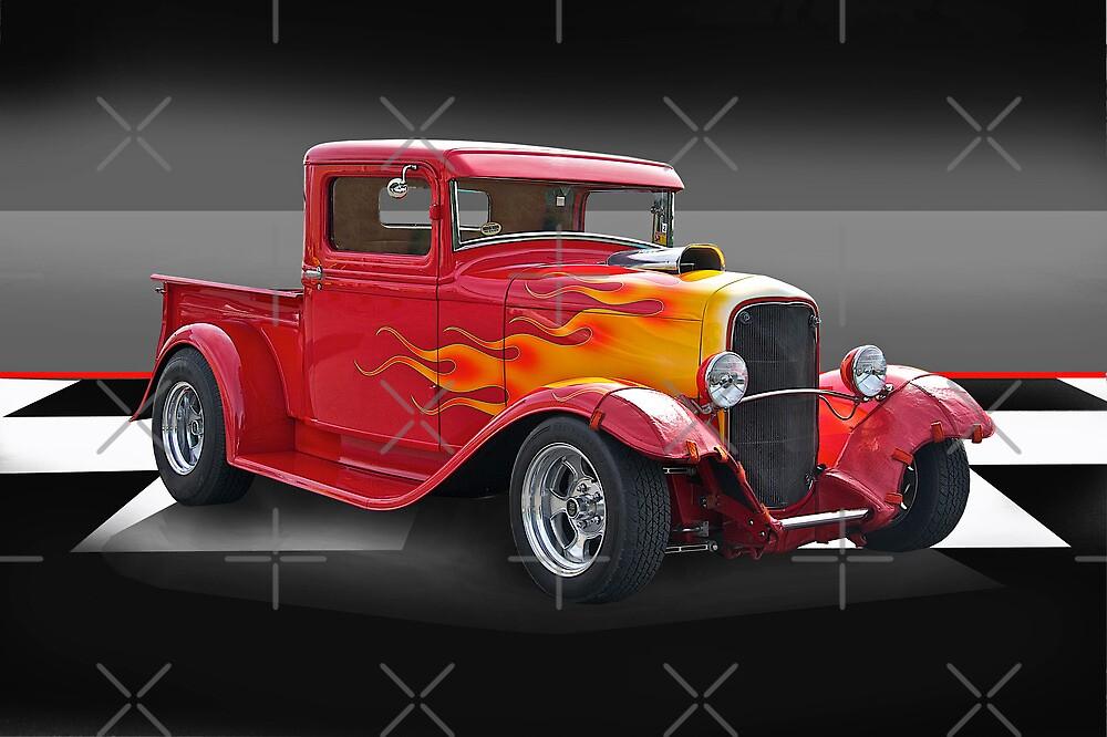 1932 Ford Pick-Up I by DaveKoontz