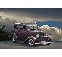 1932 Ford Tudor Sedan Photographic Print