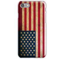United States Flag in Grunge iPhone Case/Skin