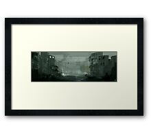Syrian civil war Framed Print