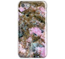 Gemstone Series - Pink and Green Thulite 2 iPhone Case/Skin