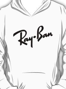 Ray Bans Logo (Graphic Tee) T-Shirt