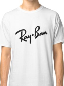Ray Bans Logo (Graphic Tee) Classic T-Shirt
