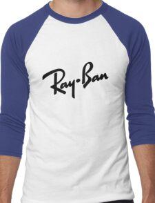 Ray Bans Logo (Graphic Tee) Men's Baseball ¾ T-Shirt