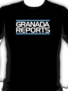 Granada Reports logo 1984-ish T-Shirt