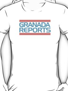 Granada Reports logo 1985-ish T-Shirt