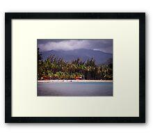 Montserrat Beach Puerto Rico Framed Print