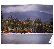 Montserrat Beach Puerto Rico Poster