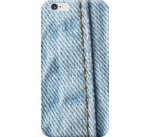 Faded Jeans Pant Leg iPhone Case/Skin