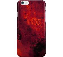 Cooling Red Hot Lava iPhone Case/Skin