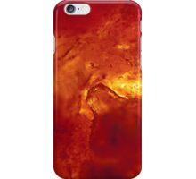 Bubbling Red Hot Lava iPhone Case/Skin