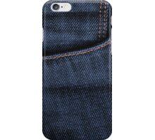 Blue Jeans Pocket iPhone Case/Skin