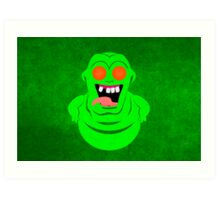 Pop Vinyl Slimer Art Print