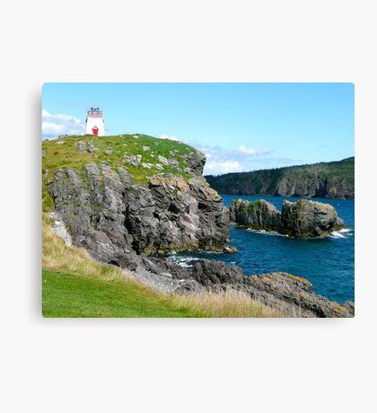 Discreet Lighthouse Canvas Print