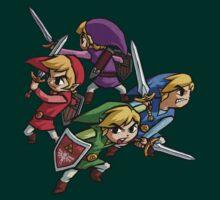 Zelda Four Swords Adventure Official Art by Hunter-Blaze