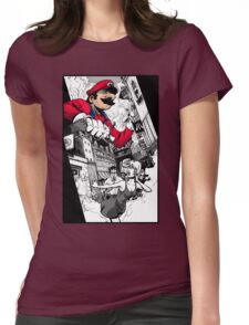 Don't feed him mushrooms Womens Fitted T-Shirt