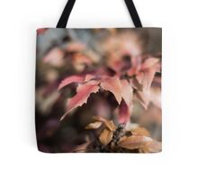 Winter Red Tote Bag