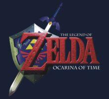 Ocarina of Time Logo by Hunter-Blaze