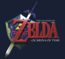Ocarina of Time Logo by Hunter-Blaze