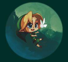 Link and Navi Fanart by Hunter-Blaze