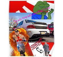 Evo memes Poster