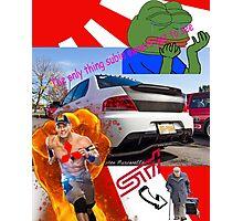 Evo memes Photographic Print