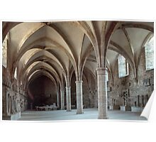 Museum abbey room Abbaye de Cluny 198403070029  Poster