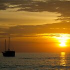 Sunset at Surin Beach, Phuket by Kevin Hellon
