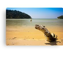 Layan Beach Phuket Canvas Print