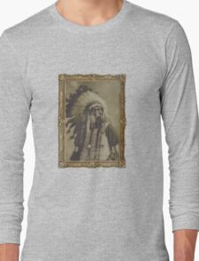 Indian Gas Mask Long Sleeve T-Shirt