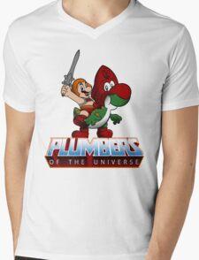 I have the Power-up Mens V-Neck T-Shirt
