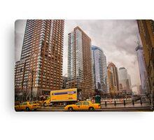 NYC Sky Rises Canvas Print
